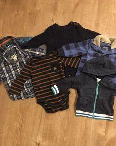 b3e55a47da11 Baby Boy Janie   Jack Plaid Shirt + Gymboree Denim Jean Outfit Size ...