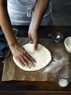 John Cullen - Pizza nights' its all hand made.