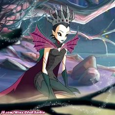 Tinker Bell/Evil Queen from. World of Winx