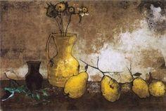 "Jean - Hovhannes ""Jean"" Semerdjian also known as Jean Jansem, was an French-Armenian painter. Modern Artists, French Artists, Drawing Sketches, Drawings, Museum Collection, Story Inspiration, Art Museum, Still Life, Amazing"