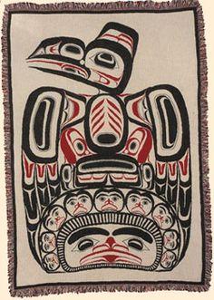 Blankets - Bill Reid - Children of the Raven.jpg 250×351 pixels