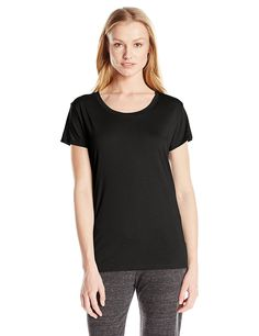 Alternative Women's Essential Crew-Neck Short-Sleeve T-Shirt -- Quickly view this special  product, click the image : Fashion