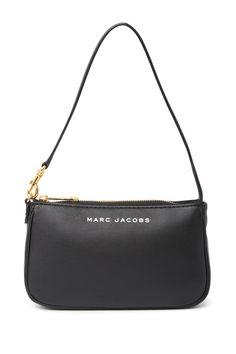 City Slick Shoulder Bag by Marc Jacobs on Black Shoulder Bag, Shoulder Purse, Leather Shoulder Bag, Marc Jacobs Handbag, Marc Jacobs Bag, Tod Bag, Designer Shoulder Bags, Black Purses, Backpack Purse