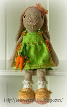 Just made with love by Antoinette: adorable Willenein. Pattern in shop