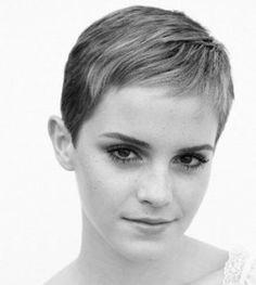 Emma Watson Twiggy style