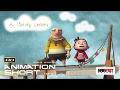 A CLOUDY LESSON (HD) Good ideas come from happy accidents - 3D CGI Animation by Ringling - YouTube