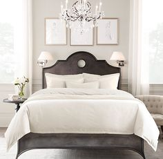 Garment-Dyed Sateen Bedding Collection | Bespoke Garment-Dyed Sateen Bedding | Restoration Hardware
