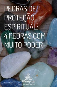 Pedras | Proteção Espiritual | Poder das pedras