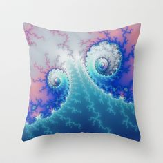 fractal_0005 Throw Pillow by fracts -