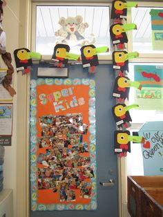 Toucan Art - Rainforest. Love this for my rainforest room and our Big 6 research