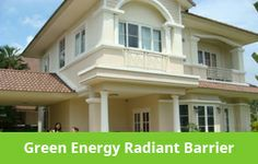 Button For Green Energy Radiant Barriers