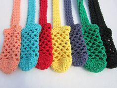 One Crochet Cotton Water Bottle Holder You by crochetedbycharlene, $8.00