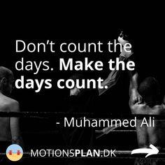 Jeg falder ofte over et inspirerende og motiverende træningscitater og har samlet en masse citater om træning og træningsmotivation her. Tjek dem ud - og måske har du selv et citat, du er faldet for og gerne vil supplere med. #træningsmotivation #træningscitater Rocky Balboa, Muhammad Ali, Arnold Schwarzenegger, Mantra, How To Make