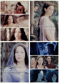 """""""For I am the daughter of Elrond. I shall not go with him when he departs to the Havens: for mine is the choice of Lúthien, and as she so have I chosen, both the sweet and the bitter."""""""