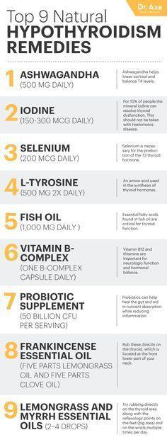 Top 9 Hypothyroidism Natural Remedies
