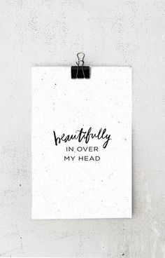 In Over My Head - Poster Bethel Music