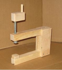 home made clamps free plans: