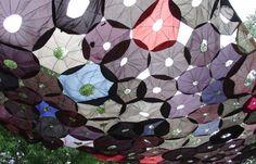 Penumbrella: Canopy Of Recycled Umbrellas