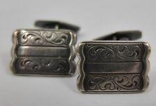 Antik edle Manschettenknöpfe 835 Silber antique cufflinks silver