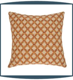 Colorado Decorative Pillows in Tangelo by Michael Amini
