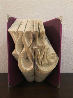 You and me Buchfaltkunst Buchkunst buchfalten Buch Bücherfalten boofolding bookfoldingart Geschenk Geschenkidee Valentinstag du und ich Faltasterei