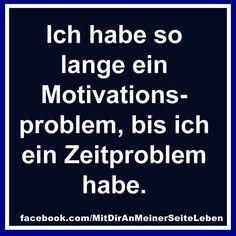 Motivations- und Zeitproblem