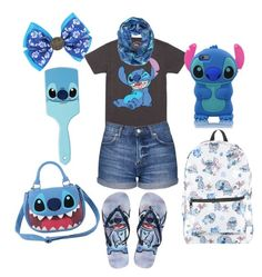 """Random stitch stuff"" by ammarah-razvi on Polyvore featuring Disney and Topshop"