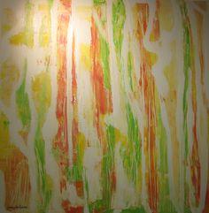 Maleri Sommer i Norge 100x100 cm