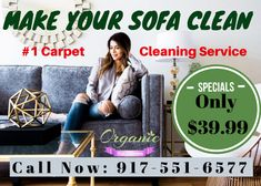 Best Sofa Dry Cleaning Services in NYC area, Organic Rug Cleaners specializes in & service. Call now