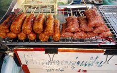 Sausages in Bangkok