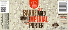 8 Wired - Barrel Aged Smoked Imperial Porter