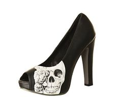 Metal Mulisha Schuhe / Footwear HEARTLESS PUMP Schwarz: Größe Schuhe: 10 - http://on-line-kaufen.de/metal-mulisha/10-herzlose-pumpe-des-hohen-absatzes-der-metal