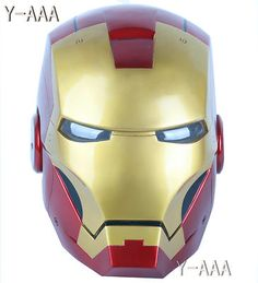 Ironman Motorcycle Helmet. when i get a bike this is happening