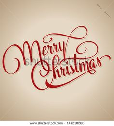 Stock Images similar to ID 149218283 - merry christmas hand ...