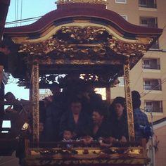 大津祭2013 「月宮殿山」 2013年10月12日  http://www.otsu-matsuri.jp/home/  http://www.otsu-matsuri.jp/festival/about-hikiyama/gekkyu.php