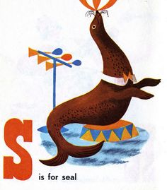 Patric Hudson, Circus Alphabet, 1954