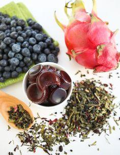 Dragon Fruit Blueberry Tea Gummies | Thirsty for Tea
