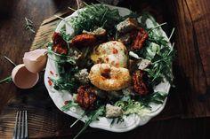 Śniadanie wykluło się w zielonym gnieździe • Zdrowe odchudzanie Chicken, Meat, Ethnic Recipes, Food, Eten, Meals, Cubs, Kai, Diet