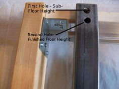 Our Pocket Door Frame Kits are designed so that you can use them on both your Finish Floor Height and your Sub Floor Height. Check out for 2450 Series or 2650 Series