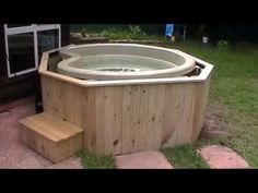 Image result for Lay Z Spa Inflatable Hot Tub Wooden Surround