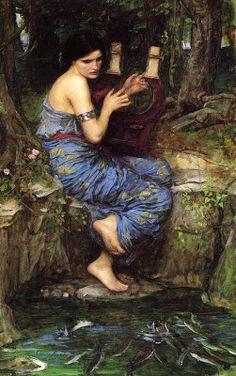 Pre Raphaelite Art: The Charmer - John William Waterhouse