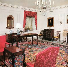The Map Room is a room on the ground floor of the White House, the official home of the President of the United States. Description from imgarcade.com. I searched for this on bing.com/images