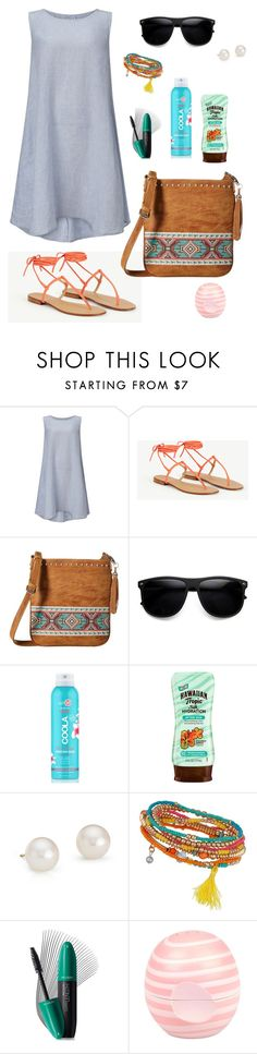 """""""Untitled #983"""" by kayla250 ❤ liked on Polyvore featuring Phase Eight, MINNA, M&F Western, ZeroUV, COOLA Suncare, Hawaiian Tropic, Blue Nile, Miss Selfridge, Revlon and River Island"""