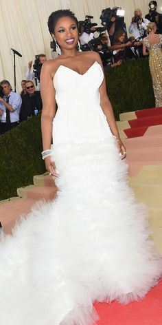 See All the Best Looks from the 2016 Met Gala Red Carpet - Jennifer Hudson  - from InStyle.com