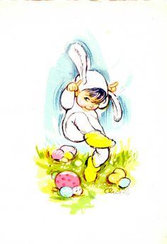 Vintage Children, Tweety, Disney Characters, Fictional Characters, Easter, Dolls, Drawings, Artist, Cute