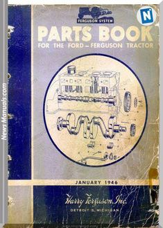 download ford tractor parts book 1946 january edition online pdf and how to  search part number