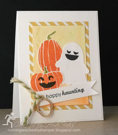 Quick & Easy: Fall Fest by Runningwscissorsstamper, Stampin' Up!, Ghoulish Greetings