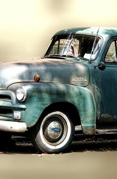 Nothing like an old Chevy pickup <3