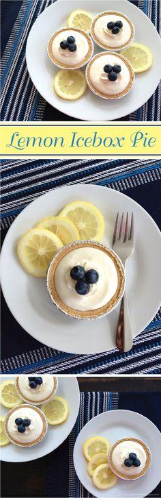 Lemon Icebox Pie Recipe by Pamela Smerker Designs