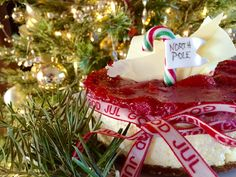 Christmas Cake: Ginger Bread Cremed Rice Cheese Cake